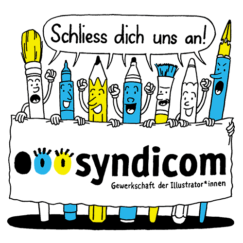 Illustration syndicom - Alle Illustrator*innen vereint!